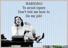 Avoid injury