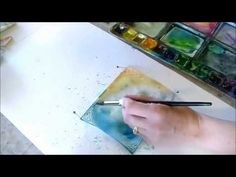 Watercolor Painting on Canvas