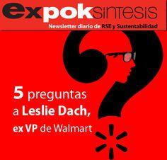 5 preguntas a Leslie Dach, ex VP de asuntos corporativos de Walmart http://www.expoknews.com/2013/08/08/5-preguntas-a-leslie-dach-ex-vp-de-asuntos-corporativos-de-walmart/