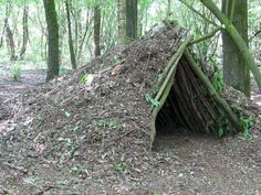 A Debris Shelter | 14 Survival Shelters You Can Build For Any Situation