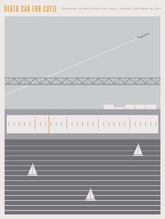 Death Cab for Cutie (2011) Poster by Jason Munn
