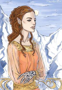 Feyre by PhantomRin