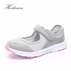284a5de842a08 Women Mesh Walking Shoes