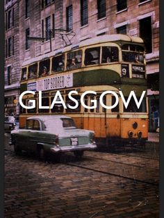 Glasgow, Scotland  Ah, the tram car,  been on lots of them...main mode of  transportation of my childhood (after walking!!)