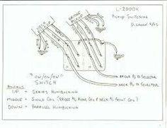 Mejores 13 imágenes de Guitar Wiring Diagrams en Pinterest