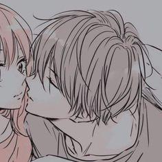 Anime Couples Drawings, Couple Drawings, Matching Pfp, Matching Icons, Cute Anime Guys, Cute Anime Couples, Character Design Girl, Anime Love Couple, Ulzzang Couple
