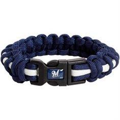 Milwaukee Brewers Survival Bracelet - Navy Blue $21.95