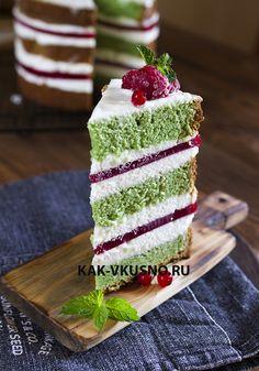 kak-vkusno.ru -Торт Малина-фисташка -вкусный магазин