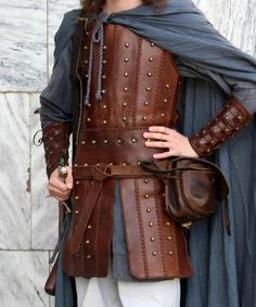 Medieval Leather armor for HISTORICAL FENCING or LARP! HAND MADE!