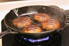 A Dollop Of Me: Kitchen Exploits - Grilled Portobello Mushrooms