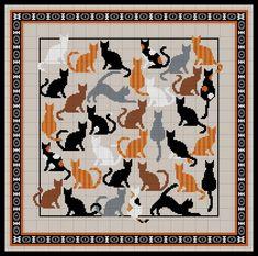 Диванная подушка с котами. Обсуждение на LiveInternet - Российский Сервис Онлайн-Дневников