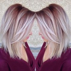 20 Fabulous Summer Hair Color Ideas – Amazing Hair Colours Straight Lob Hairstyle – Ombre, Balayage Hair Styles - Unique World Of Hairs Medium Hair Styles, Short Hair Styles, Color Del Pelo, Corte Y Color, Hair Color And Cut, Hair Cuts And Color Ideas, Summer Hair Colour, Dusty Rose Hair Color, Fall Hair Colors