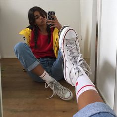 girl On bouncing Early morning BooBers be a bouncing hot women Mode Outfits, Grunge Outfits, Trendy Outfits, Girl Hipster Outfits, 90s Fashion, Fashion Outfits, Womens Fashion, Trendy Fashion, Look Retro