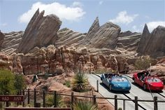 Disney unveils theme park redo with Cars Land
