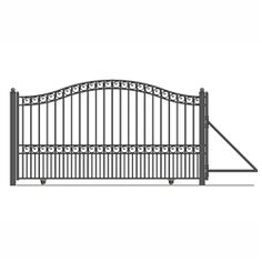 All our gates capture the classic elegance of wrought iron gate designs and come in affordable prices. Our quality gates are all powder coated and galvanized for years of trouble free good looks and security.
