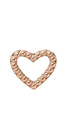 Endless #RoseGold Heart charm  www.bevjewelers.com