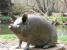 Pig by the Brandywine, Brandywine River Museum, Jamie Wyeth