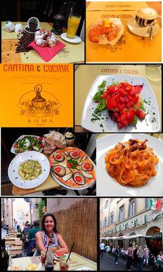 Italian food @ Rome    #monogramsvacation