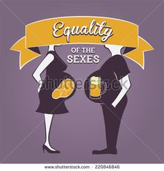 "Gender Equality Illustration - ""Equality of the sexes"" - Shutterstock Premier"