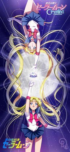 Sailor Moon Crystal | by Drachea Rannak on Facebook