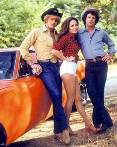 The Dukes of Hazzard. Tom Wopat, John Schneider and Catherine Bach. Happy Birthday to Tom Wopat who turns 62 today.