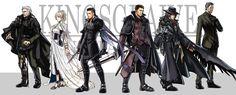 Anime 2636x1063 Kingsglaive: Final Fantasy XV Nyx Ulric Lunafreya Nox Fleuret Regis Lucis Caelum