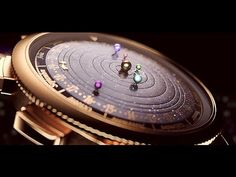 A $330,000 watch that has the planets visible from earth rotating in real-time