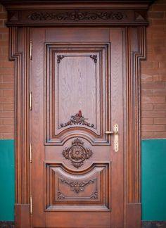 Exterior French Door - November 23 2018 at - June 02 2019 at Main Entrance Door Design, Wooden Front Door Design, Door Gate Design, Room Door Design, Wooden Front Doors, Door Design Interior, Wood Doors, Interior Doors, Entry Doors