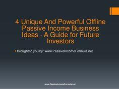 http://www.passiveincomeformula.net/ Passive Income Formula