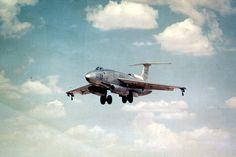 Martin XB-51 landing. (U.S. Air Force photo