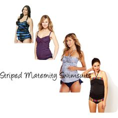 Style it for summer with #stripes #maternity #swim