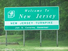 Welcome to New Jersey...........