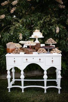 Dessert buffet: Heri