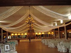 Event Ceiling Decorations | Party Decor specializes in creating dramatic ceiling drapery for ...