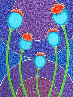 Poppy Pods ~ by Elspeth McLean