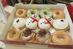Christmas Krispy Kreme in Japan