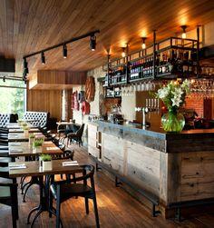 Gastropubs by Oakman Inns & Restaurants by People In Space UK Retail Design Pub Interior, Bar Interior Design, Restaurant Interior Design, Pub Design, Coffee Shop Design, Retail Design, Deco Restaurant, Rustic Restaurant, People In Space
