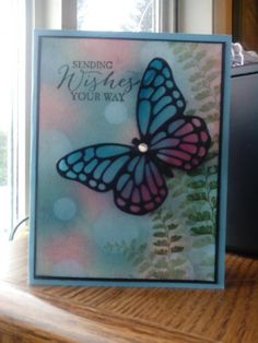 Bokeh tech. by Arlene Mantle - Cards and Paper Crafts at Splitcoaststampers