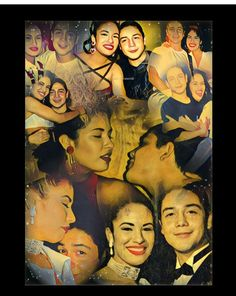 I am more than sure that I have every single one of these pictures but the collaboration of the togetherness and the artistic view is beautiful GH quote Selena Quintanilla Perez, Selena And Chris Perez, Everything She Wants, Corpus Christi, Collaboration, Quote, Pictures, Artist, Painting