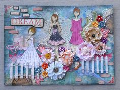 Scrapbooking Sisters Prima doll stamps
