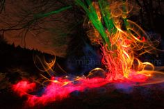 Light Painting Photographer Michael Bosanko | Light Painting Photography