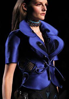 Viktor & Rolf SS12 blue designer fashion