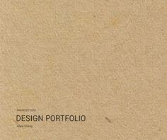 interior design portfolio portfolio covers simple
