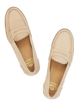 Creme colored Penny Loafers
