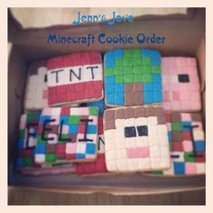 Minecraft Cookie Order
