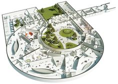Viking Age Museum in Oslo Norway by AART cultural architecture news - Landscape architecture - # Cultural Architecture, Plans Architecture, Romanesque Architecture, Museum Architecture, Education Architecture, Classic Architecture, Concept Architecture, Landscape Architecture, Planetarium Architecture