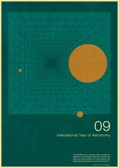 International Year of Astronomy Posters By Simon C Page - 2009