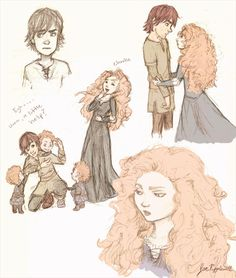 Hiccup and the Triplets!!!