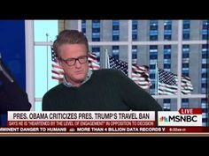 "Scarborough Defends Trump Against 0bama. 'I would suspect that 'hell just froze over!'MSNBC host Joe Scarborough defiled 0bama for his approval of the protests against President Trump's immigration ban. Characterizing 0bama's statements as ""rank hypocrisy,"" Scarborough reminded the viewing audience of 'Morning Joe' that 0bama supported aspects of a ""de facto ban against Syrian refugees from 2011 to 2015."" Scarborough even stated that 0bama's policies originally created the Syrian refugee…"