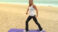 15 Minute Beach Workout - Women's Fitness HD Video | funtweak.com